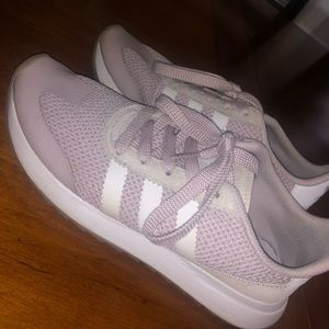Pink Adidas Running Shoes